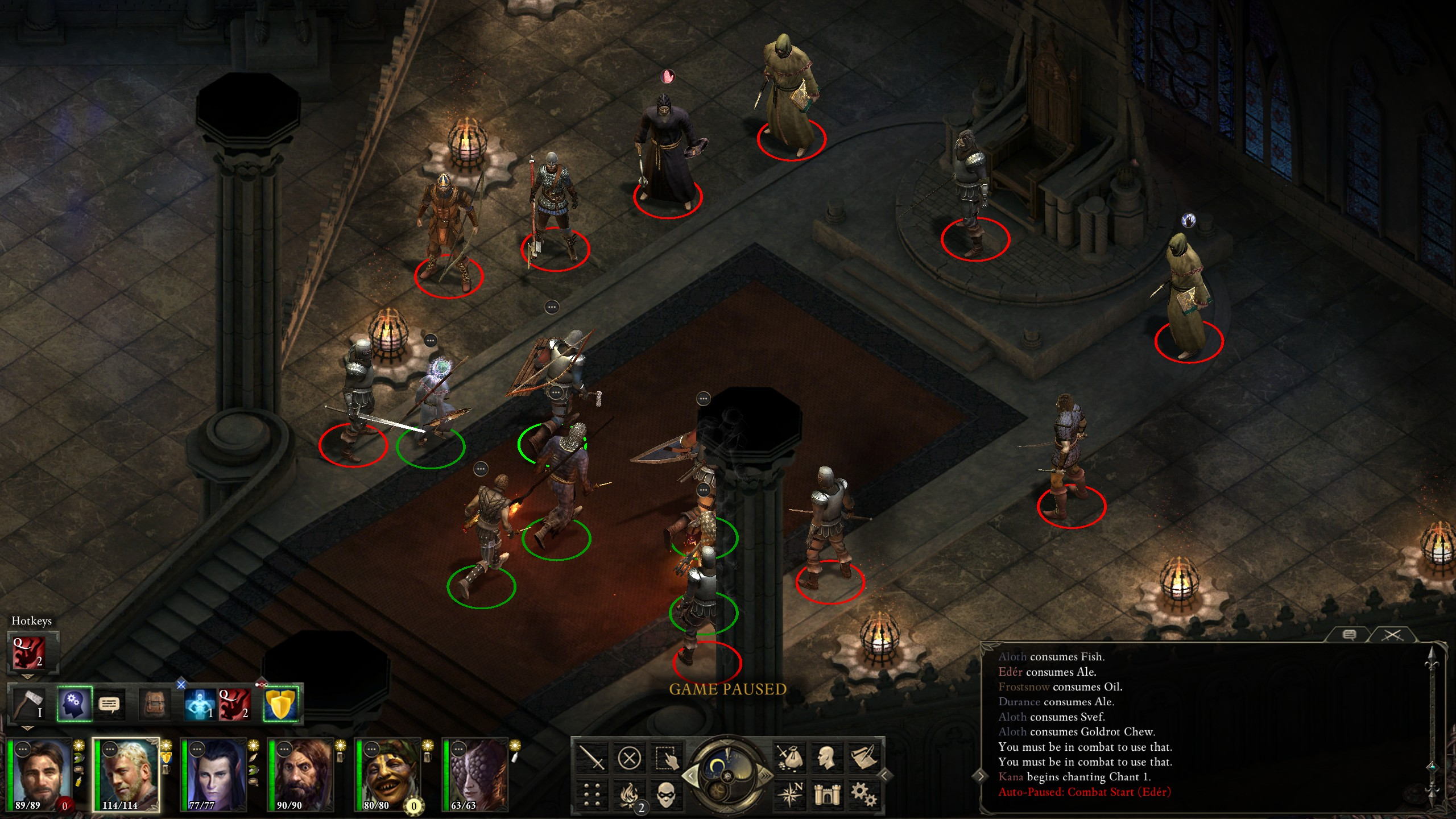 2018-06-16 Pillars of Eternity: Path of the Damned, Act I