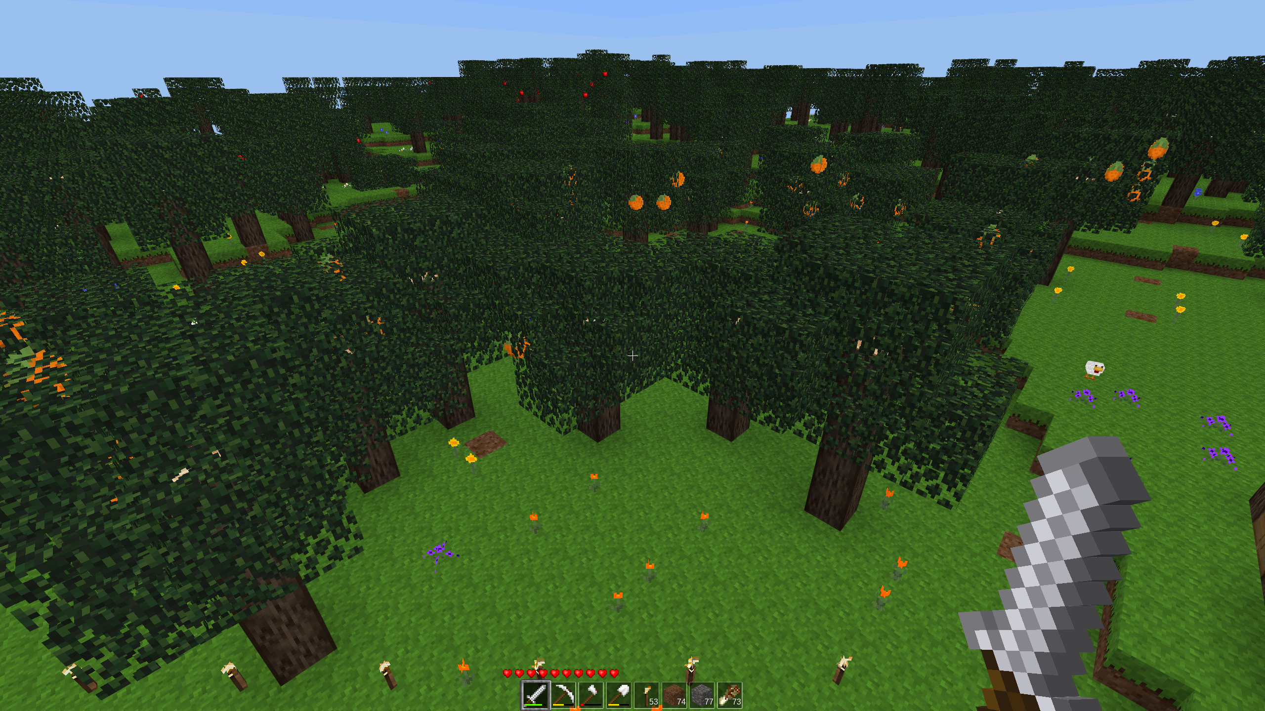 2019-03-31 Tree Growth in Minetest